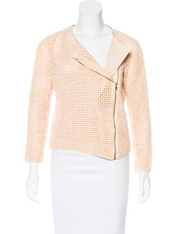 Maje Lightweight Knit Jacket None