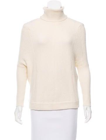 Maje Turtleneck Knit Sweater None