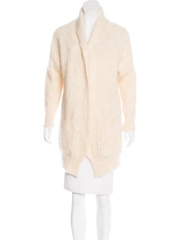 Maje Knit Open-Front Cardigan w/ Tags None
