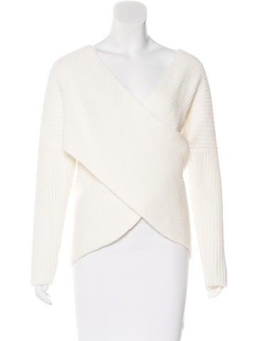 Maje Wrap Knit Sweater w/ Tags None