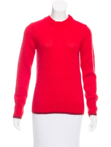 Maje Mohair-Blend Sweater w/ Tags None