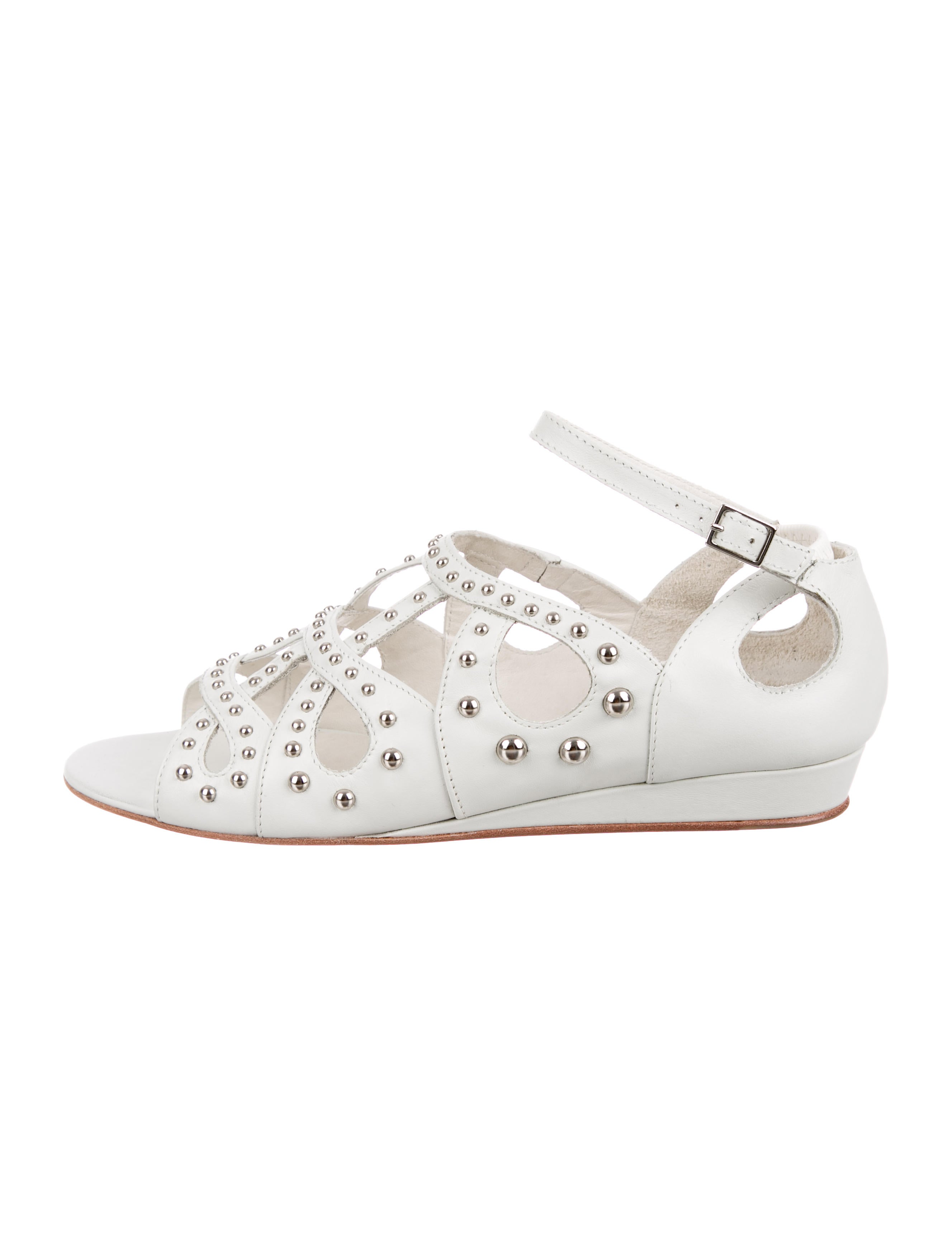 Maje Stud-Embellished Caged Sandals w/ Tags geniue stockist for sale discount 2015 best sale XHf2B2F
