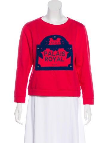 Maje Long Sleeve Sweater None