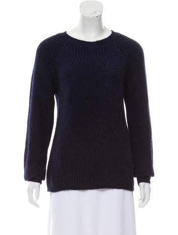 Maje Crew Neck Sweater None