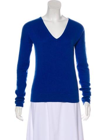 Maje Cashmere Knit Sweater None