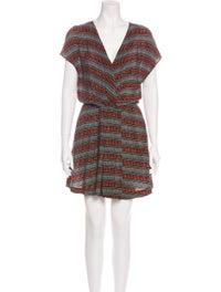 Maje Silk Mini Dress