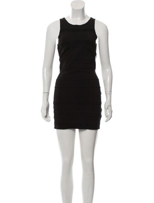 Maje Sleeveless Bodycon Dress Black