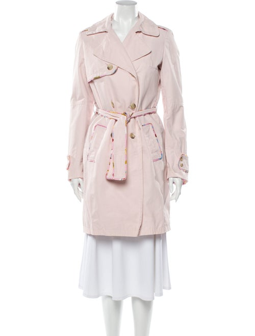 Maje Trench Coat Pink