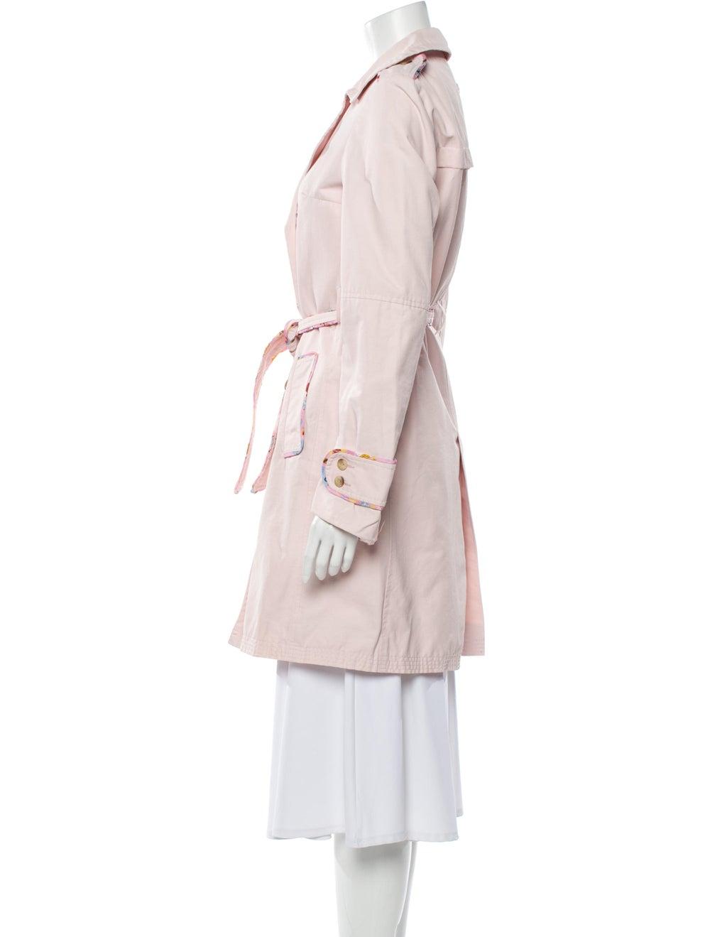 Maje Trench Coat Pink - image 2