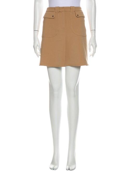 Maje Mini Skirt Brown - image 1