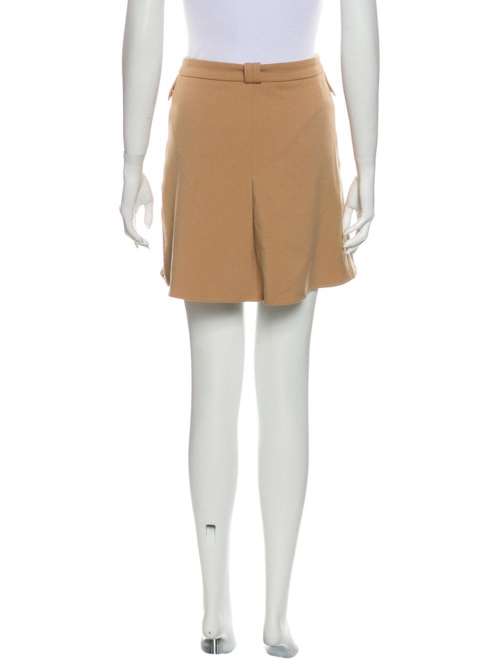 Maje Mini Skirt Brown - image 3