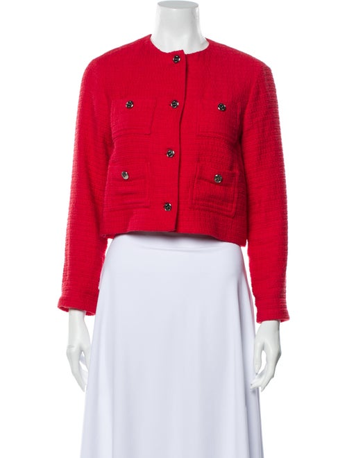 Maje Evening Jacket Red