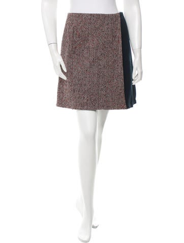Trademark Tweed A-Line Skirt w/ Tags None