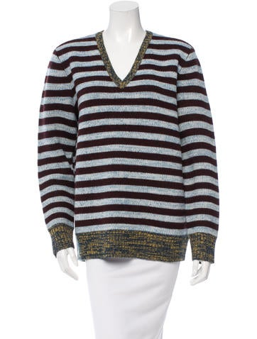 Trademark Melange Striped Sweater w/ Tags None