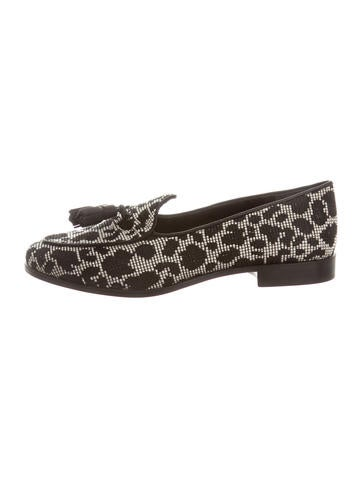 Trademark Canvas Leopard Loafers w/ Tags