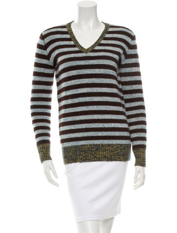 Trademark Striped Wool Sweater None