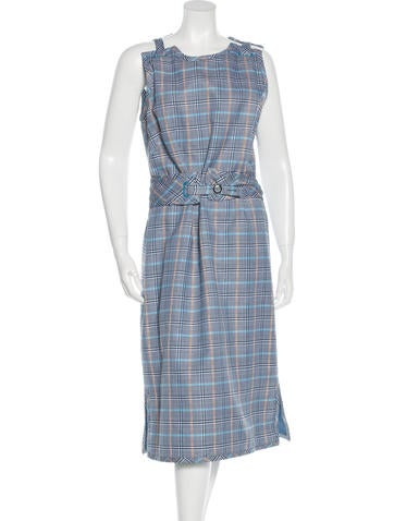 Trademark Indus Plaid Dress w/ Tags