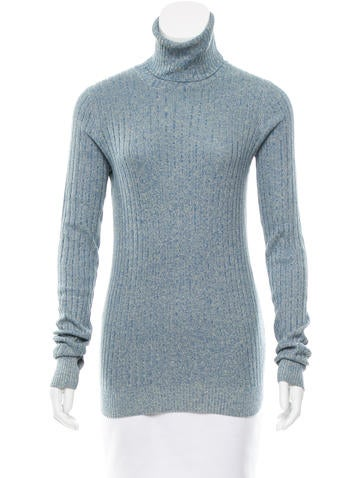 Trademark Silk Turtleneck Top None