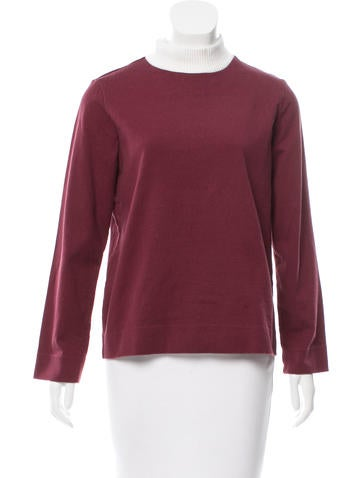 Trademark Rib Knit Long Sleeve Top None