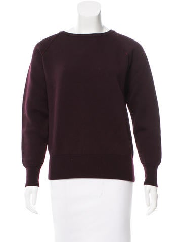 Trademark Wool Crew Neck Sweater None