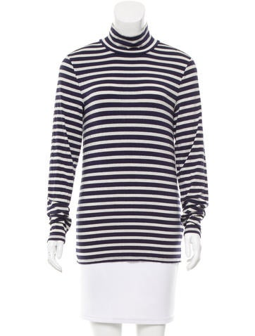 Trademark Striped Long Sleeve Top None