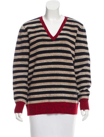 Trademark Wool Striped Sweater w/ Tags None