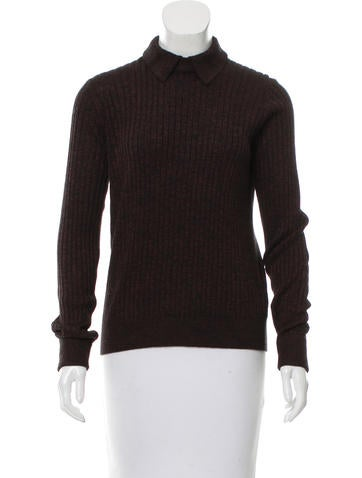 Trademark Long Sleeve Rib Knit Sweater None