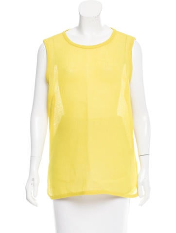 Trademark Sleeveless Sheer Top None
