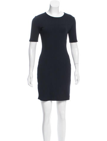 Trademark Ribbed Mini Dress None