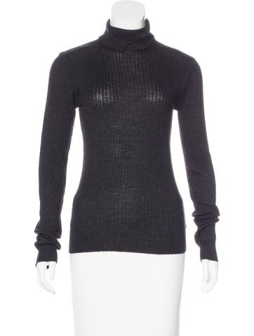 Trademark Rib Knit Turtleneck Sweater None