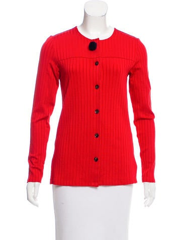 Trademark Rib Knit Cardigan None