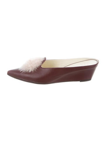 Trademark Fur Castainge Mules w/ Tags sale best sale cheap sale cheap largest supplier online high quality 3GInT