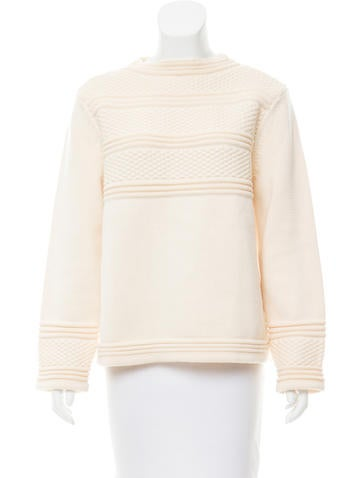 Trademark Wool Textured Sweater None