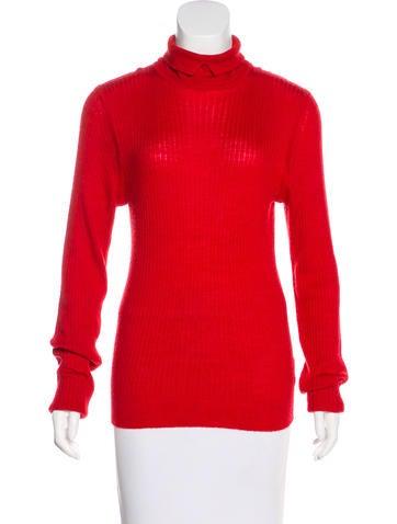 Trademark Wool-Blend Rib Knit Sweater None