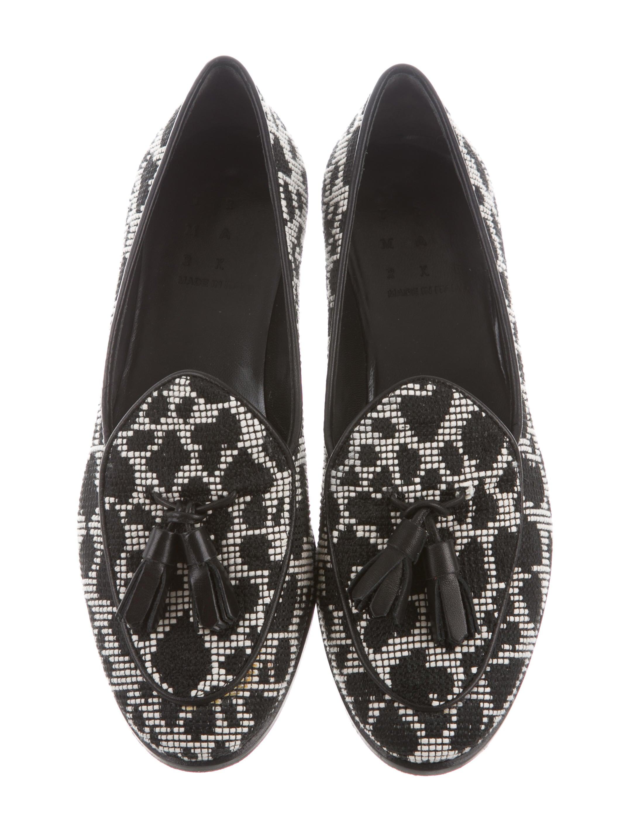 comfortable Trademark Raffia Tassel Loafers under $60 lvZe4V0u