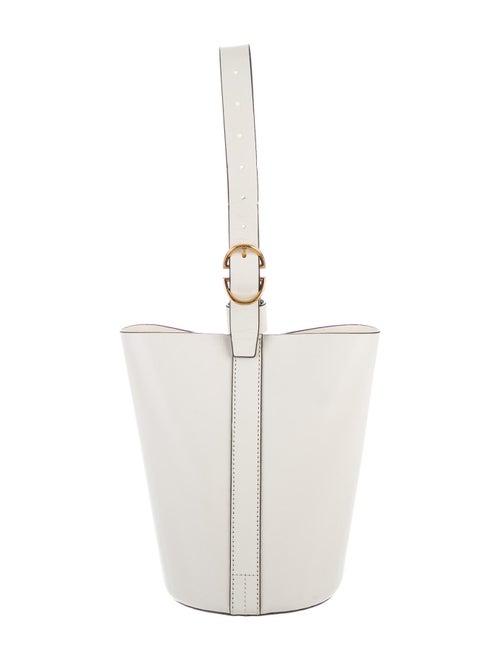 Trademark Leather Bucket Bag White