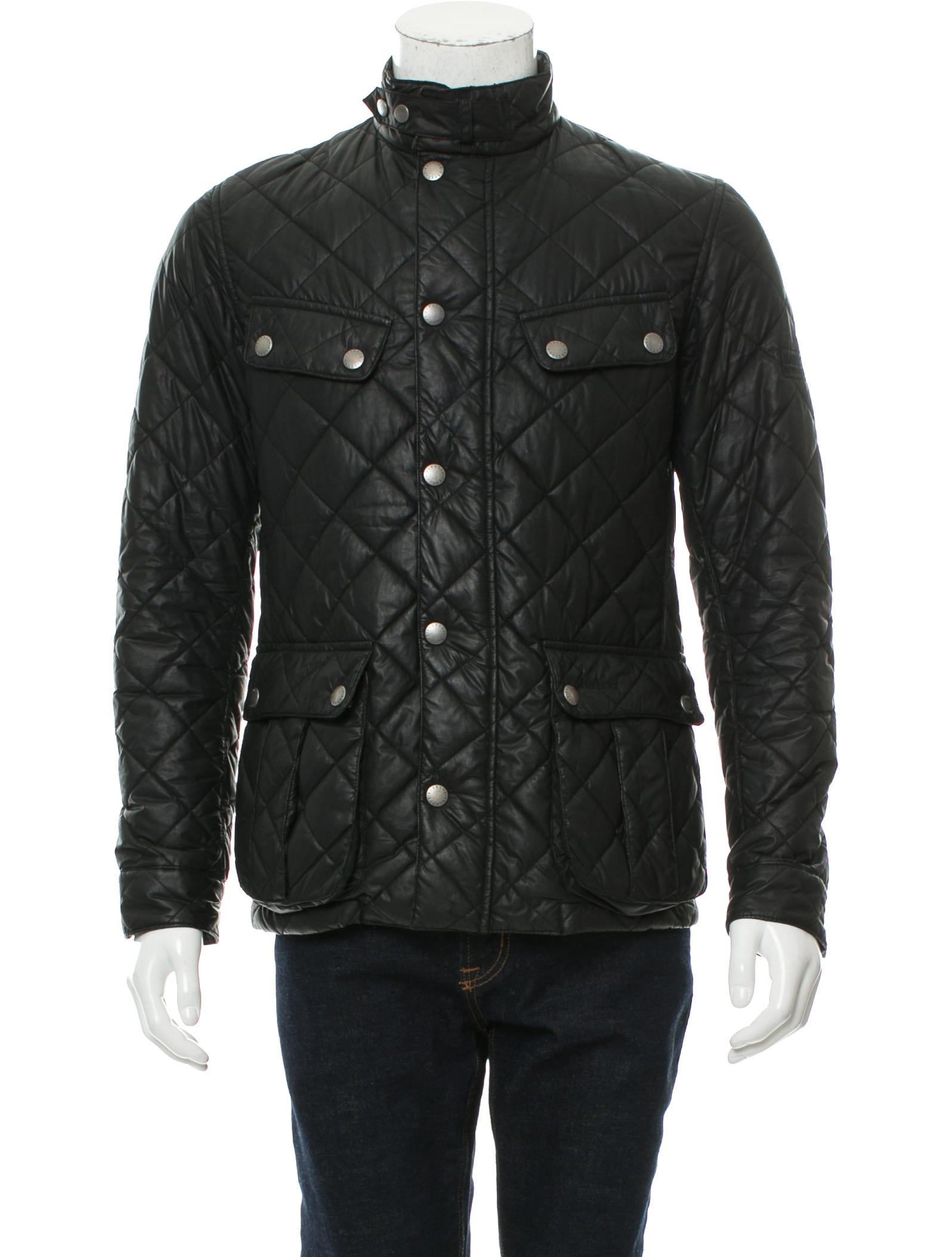 Barbour Quilted Puffer Jacket Clothing W2U20984 The  : W2U209841enlarged from www.therealreal.com size 1596 x 2105 jpeg 197kB