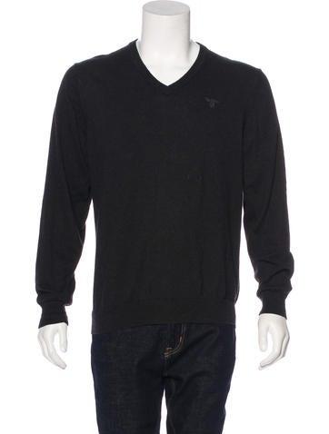 Barbour Cashmere-Blend V-neck Sweater None