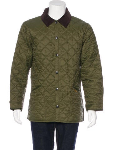 Barbour Luxury Fashion | The RealReal : barbour keeperwear quilted jacket - Adamdwight.com