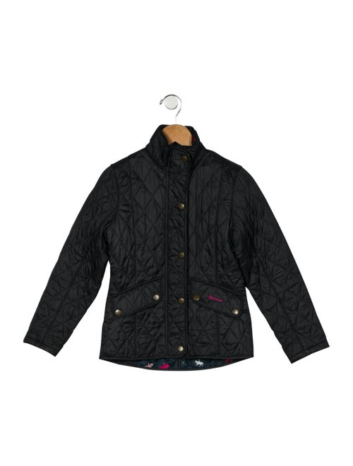 Barbour Quilted Casual Jacket Black