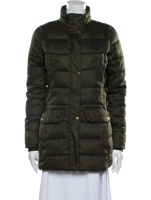Barbour Down Jacket Green
