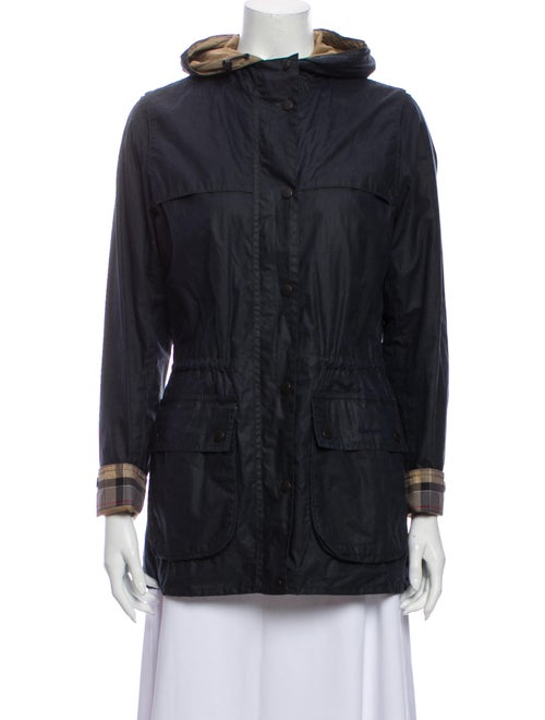 Barbour Utility Jacket Blue