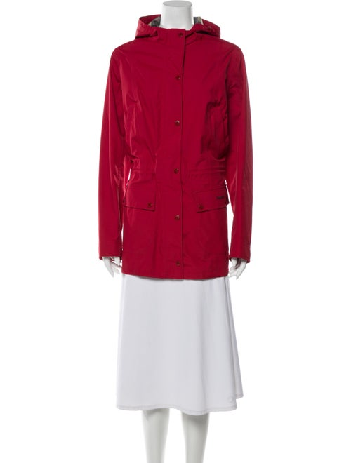 Barbour Coat Red