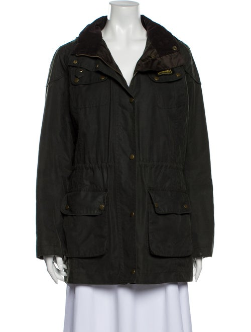 Barbour Coat Green