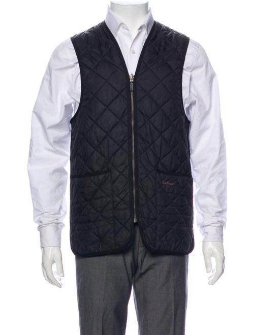 Barbour Quilted Vest Black