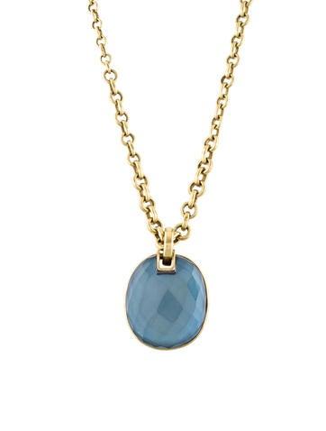 Vaubel quartz doublet pendant necklace necklaces w2v20337 the quartz doublet pendant necklace aloadofball Images