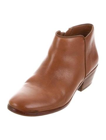 e6c220cf32098 Sam Edelman Petty Saddle Leather Ankle Boots - Shoes - W2W20109 ...