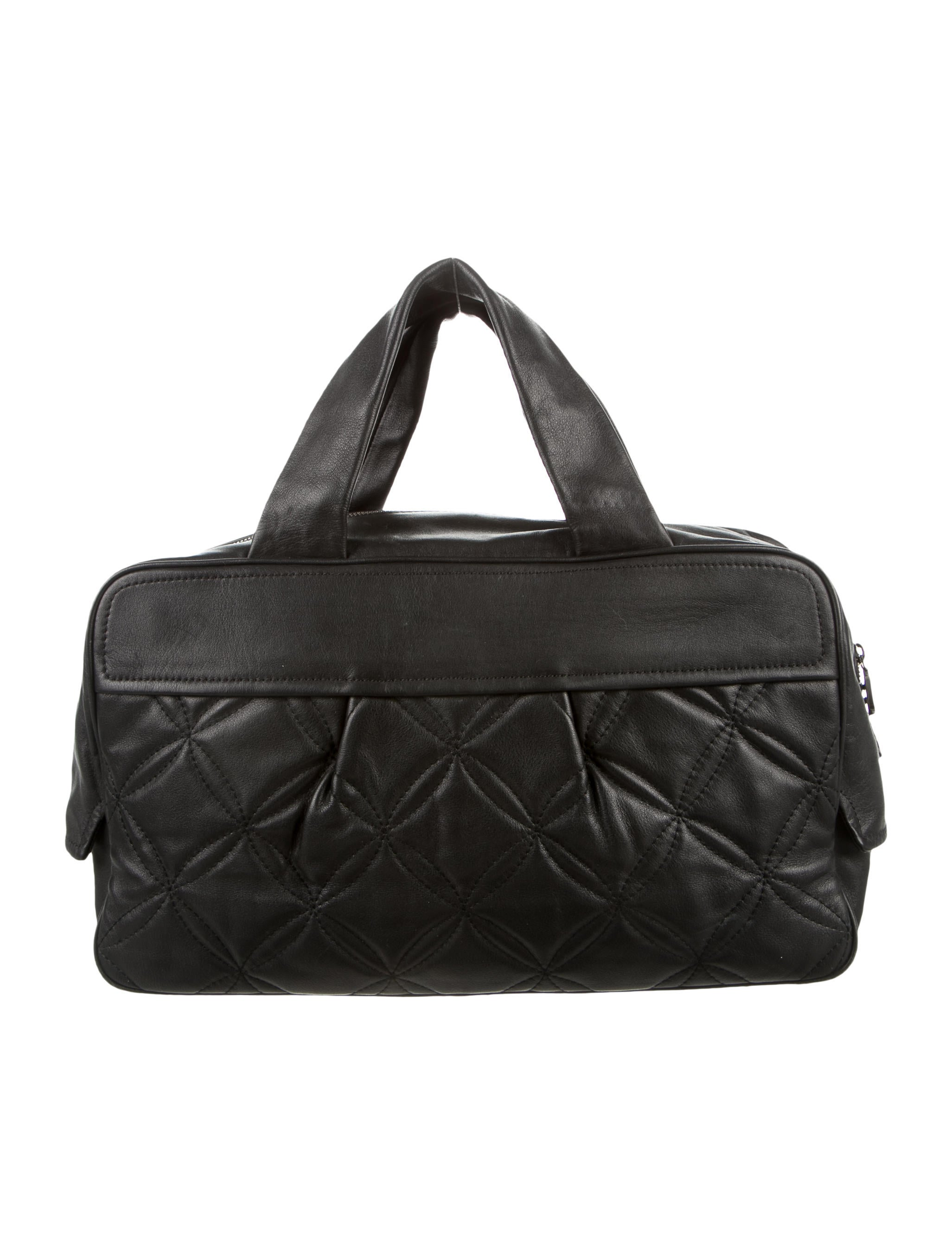 mcm medium quilted duffle bag handbags w3020744 the