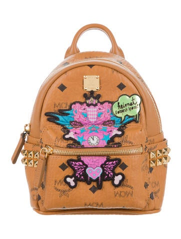 MCM X Strumbel Heimat Loves Small Backpack w/ Tags None