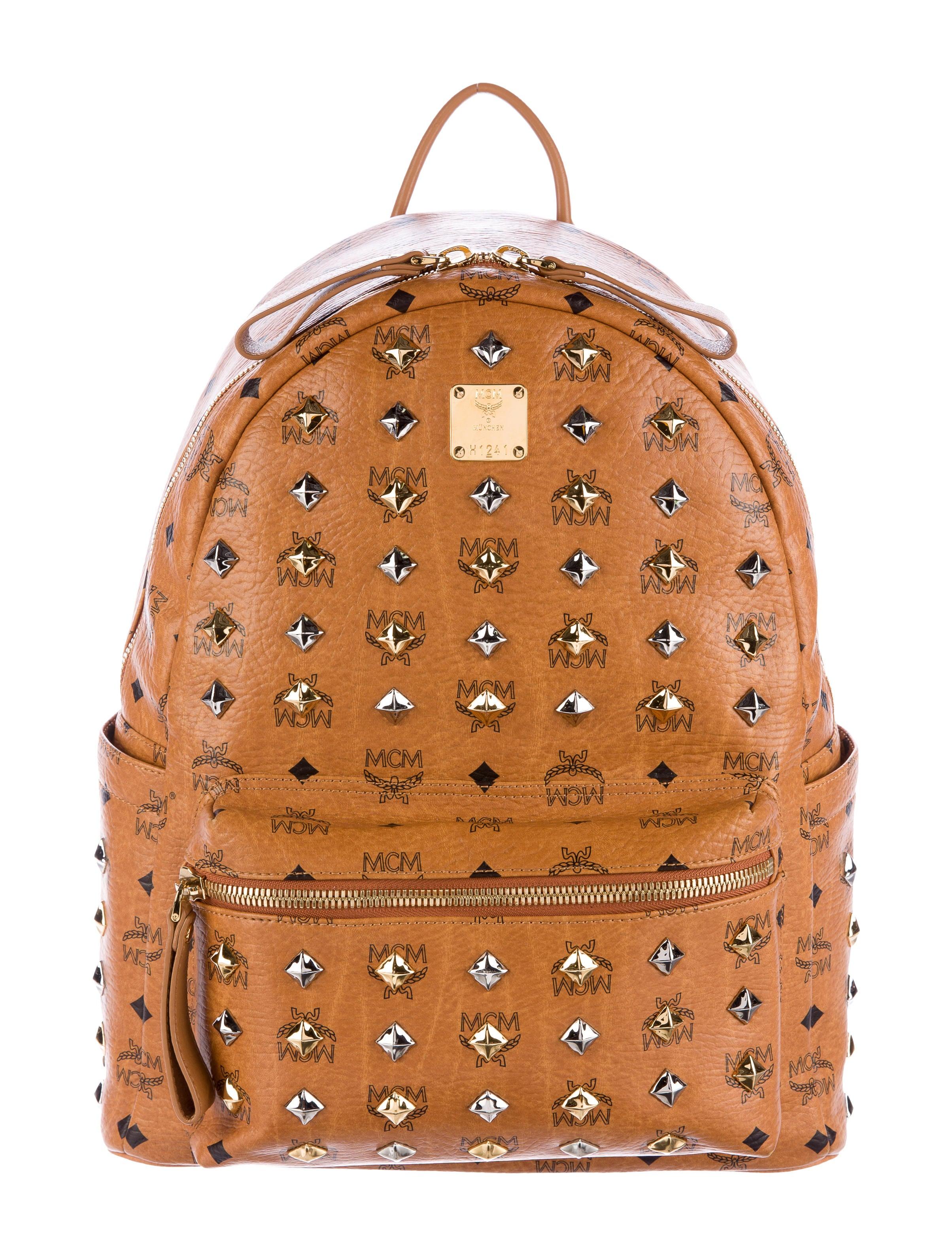mcm large visetos stark backpack bags w3021194 the realreal. Black Bedroom Furniture Sets. Home Design Ideas